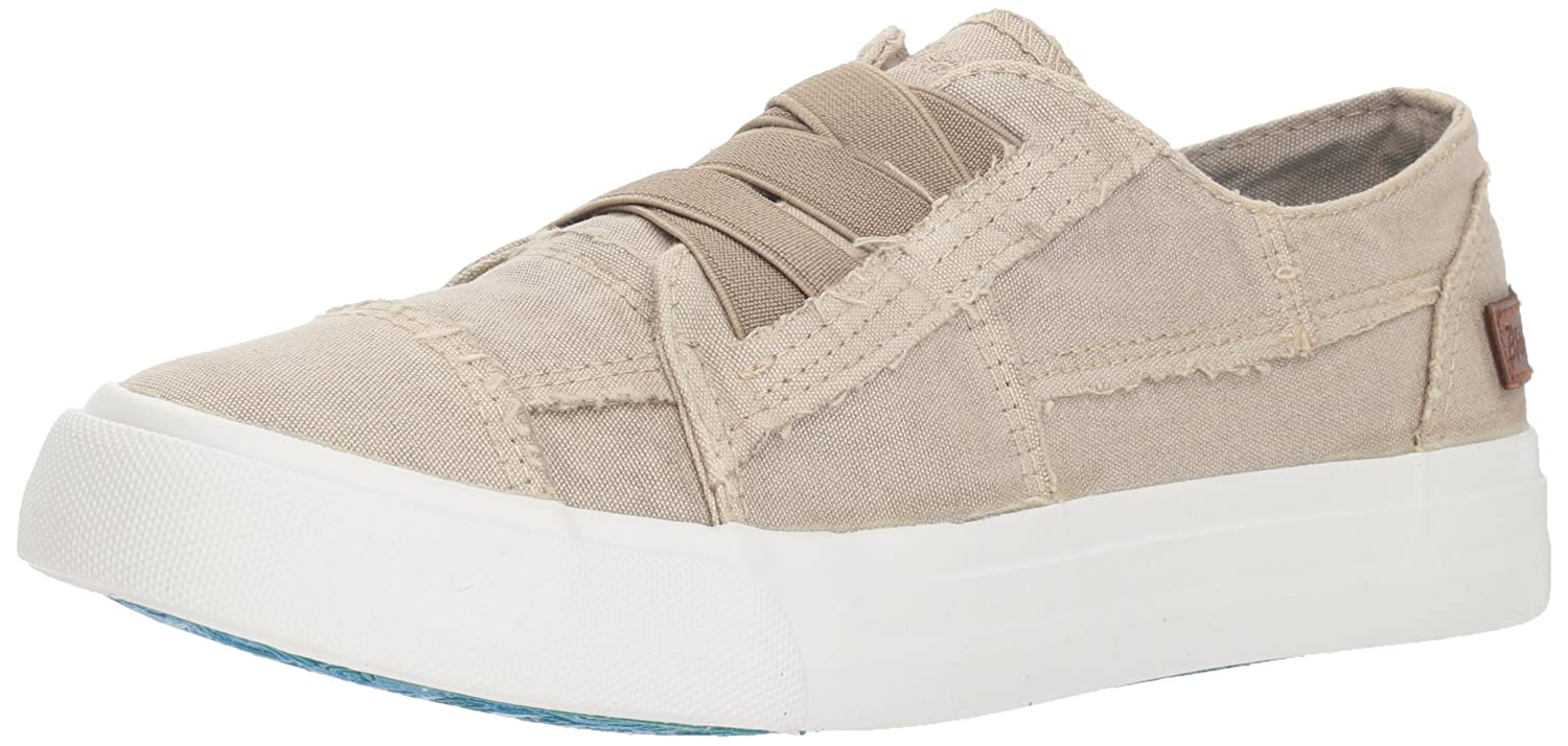 Blowfish Women's Marley Sneaker B079RLQ9FL 6 M US|Birch Colorwash Canvas