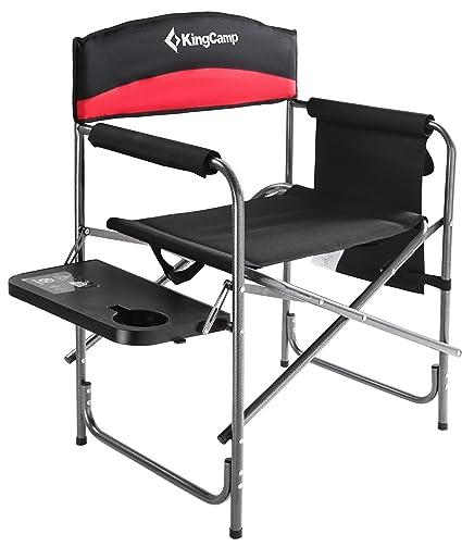 Amazon.com: KingCamp – Silla de camping plegable con asiento ...