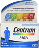 Centrum Multivitamin Tablets for Men, Pack of 30
