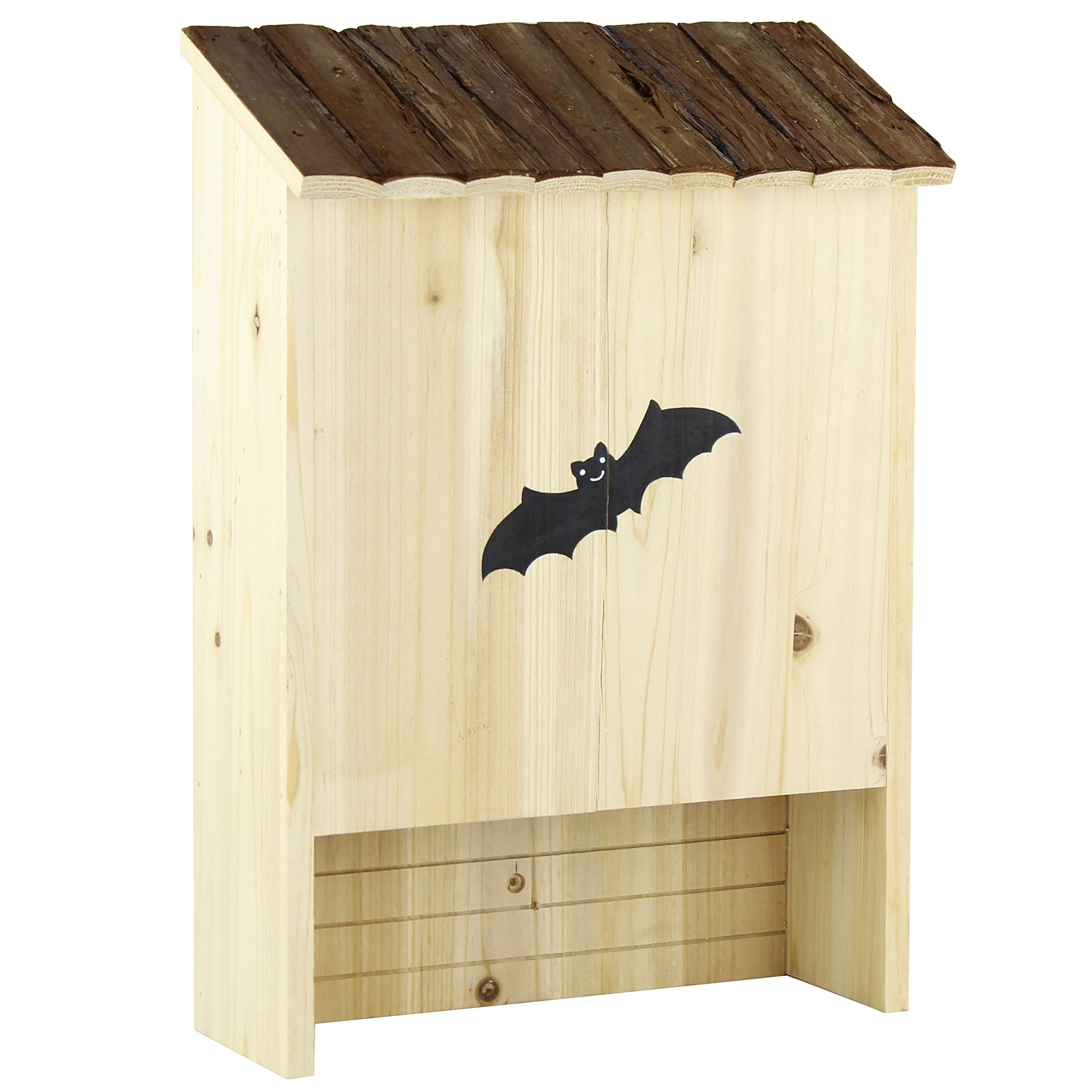 Gardirect Natural Double Chamber Bat House