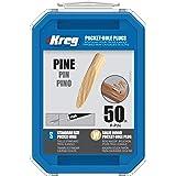 Solid-Wood Pocket-Hole Plugs - Pine