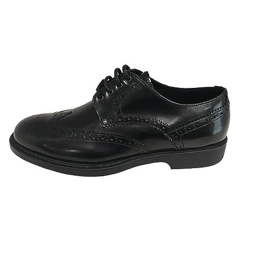 sports shoes 3c23d a515e BRIAN CRESS Scarpa Uomo Derby duilio Nero in Pelle ...