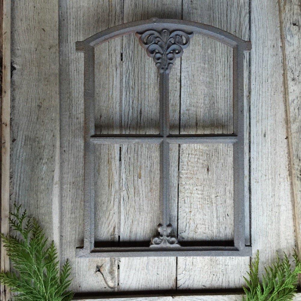 antikas –  Clapier fenê tre, des paysans de fenê tre pour pergola, fer Mur de fenê tre jardin 46 x 31 cm des paysans de fenêtre pour pergola fer Mur de fenêtre jardin 46x 31cm