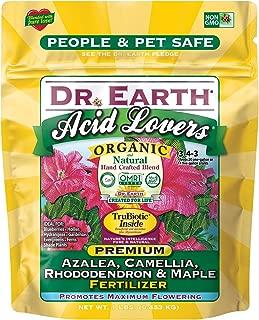 product image for Dr. Earth Organic & Natural MINI Acid Lover Azalea, Camellia, Rhododendron & Maple Fertilizer ( 1 lbs )