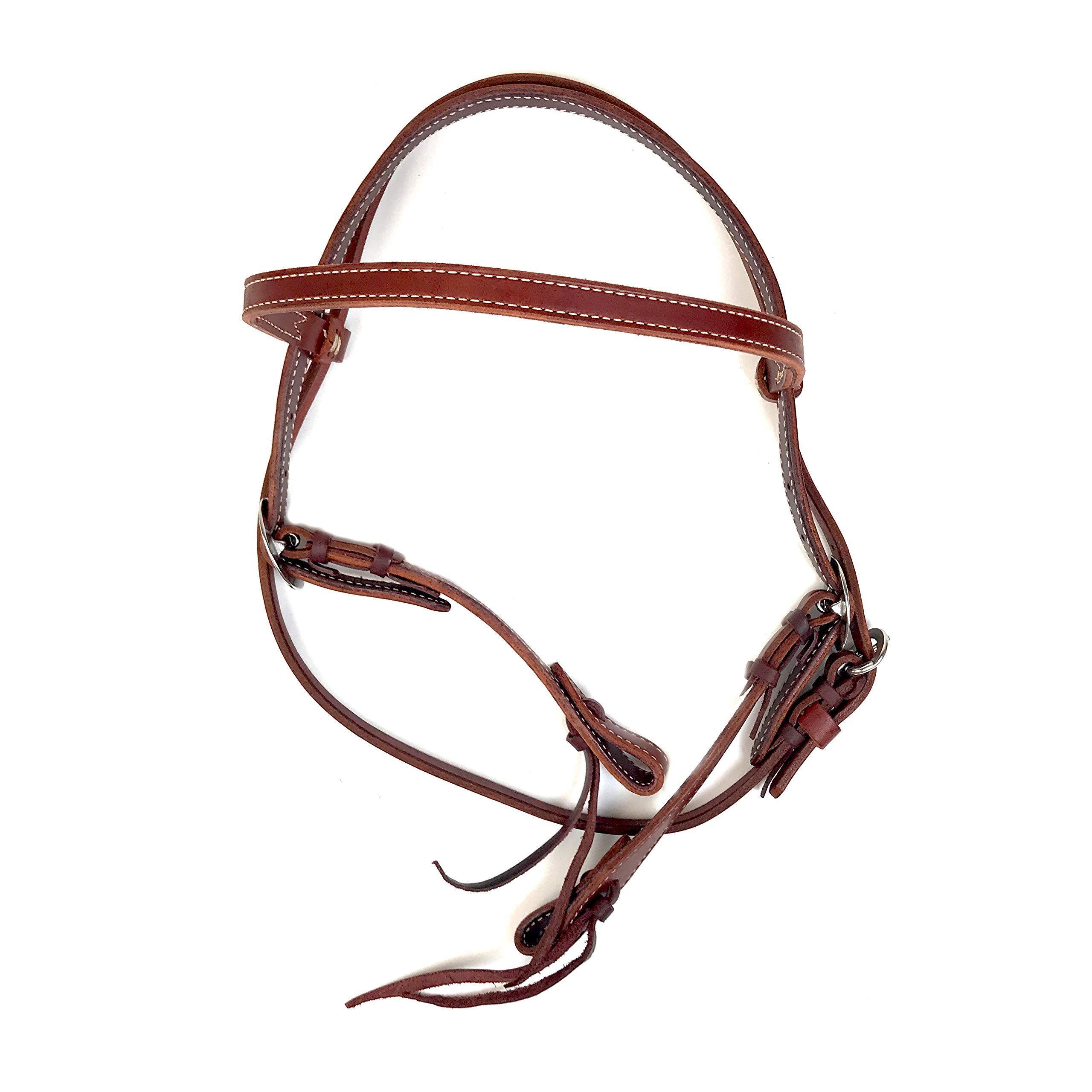 Alamo Saddlery LLC Rancher Supply- ' Elite Brow Band Headstall'