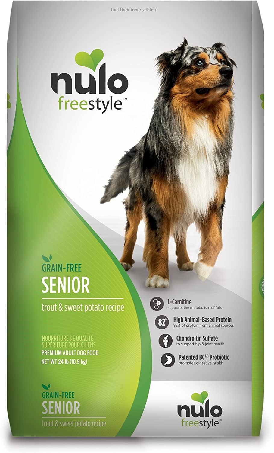 5. Nulo Freestyle Grain-Free Senior Dry Dog Food