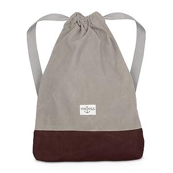 9e38b1e90a72d Rucksack Gym Bag Sack Turnbeutel Baumwolle Canvas Tasche Sport Frauen  Männer Kinder