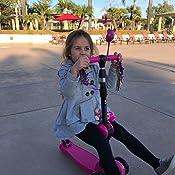 Amazon.com: Patinete 2 en 1 para niños con asiento ...