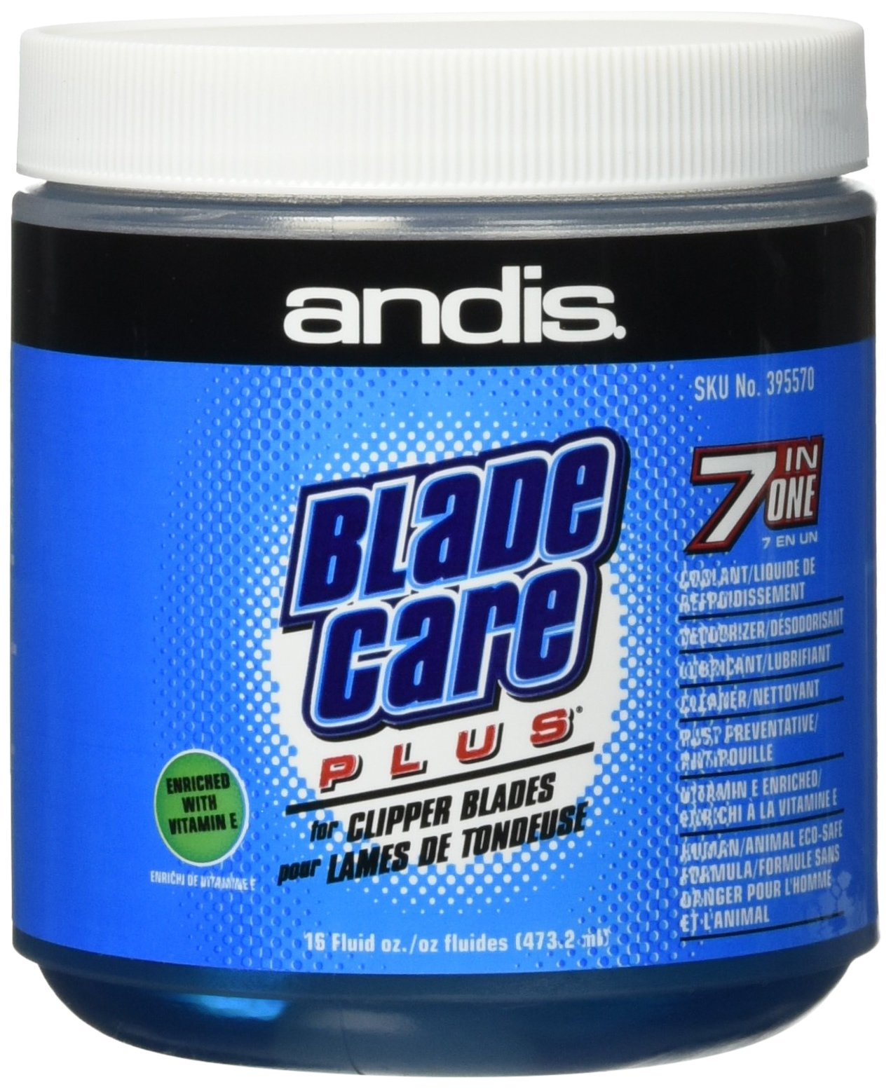 Andis Blade Care Plus Dip Jar, 16 oz by Andis