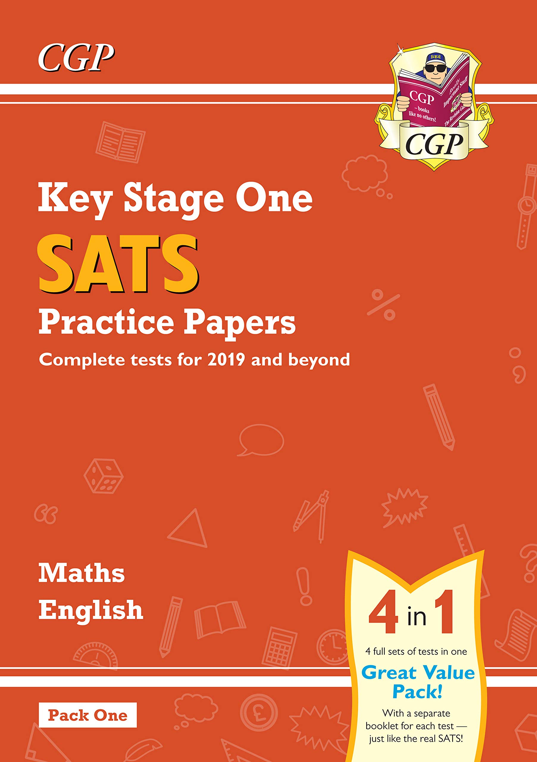 New KS1 Maths and English SATS Practice Papers Pack (for the