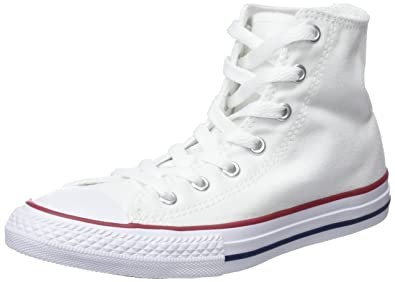 bc73d7754ca Converse Chuck Taylor All Star Hi Optical White Textile 11.5 M US Little Kid