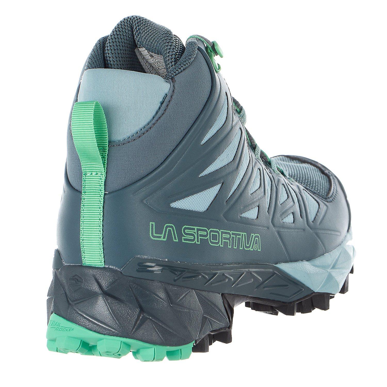 La Sportiva Women's Blade GTX Hiking Boots B071WPG16Y 37 M EU|Slate / Jade Green