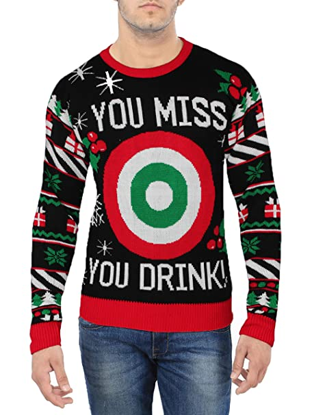 Ugly Christmas Sweater Men.Miracle Ugly Christmas Sweater Snow S Out Ho Ho Ho S Out Men S Ugly Christmas Sweater