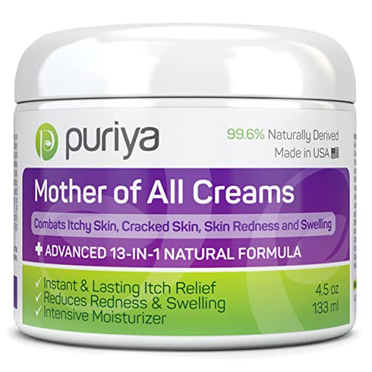 Puriya Cream For Eczema Powerful 13-in-1 Natural Formula
