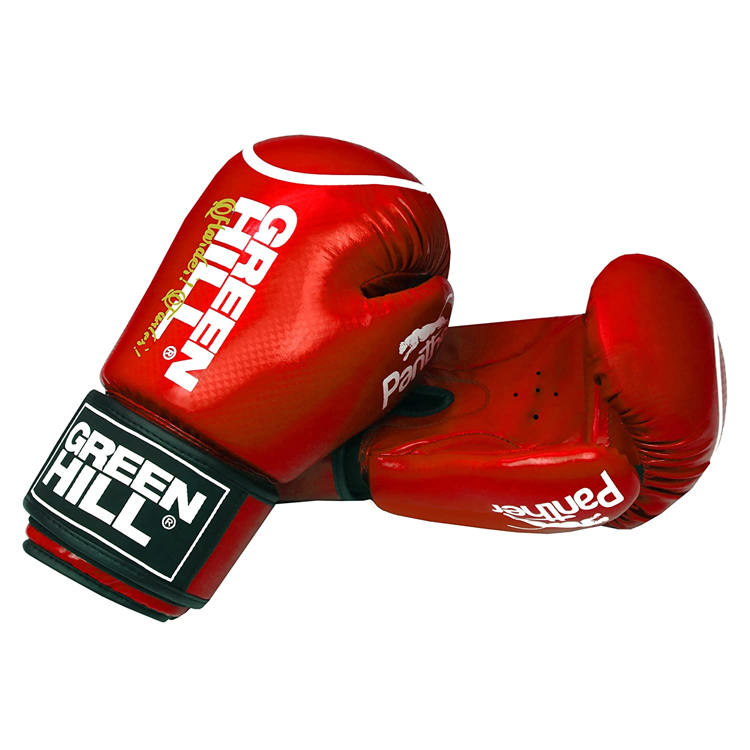 Greenhill Green Hill Panther Boxing Gloves Muay Thai Training Sparring Punching Bag Kickboxing UFC MMA Cage Fighting