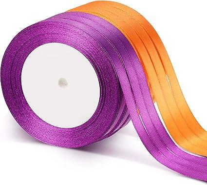 1 Yard Halloween Print Grosgrain Ribbon Party Gift Present Craft Packaging Rope