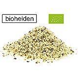 Biohelden Bio Hanfsamen geschält 1kg Premium Qualität Hanf samen 99% rein - natürliche Eiweiß quelle Vegan Glutenfrei Rohkost 1000g Omega 3 und 6 (1kg)