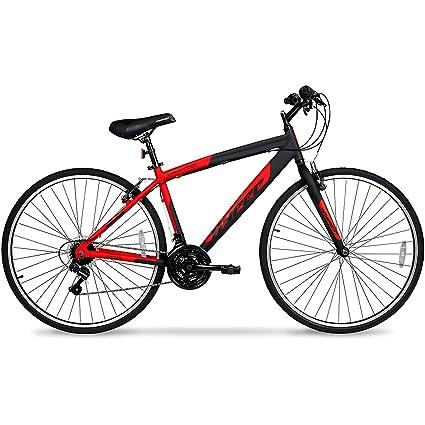 700c Hyper SpinFit Men's Hybrid Bike, Red