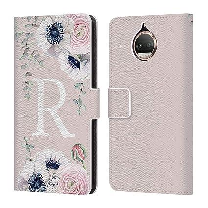 Amazon.com: Official Nature Magick Letter R Floral Monogram Pink ...