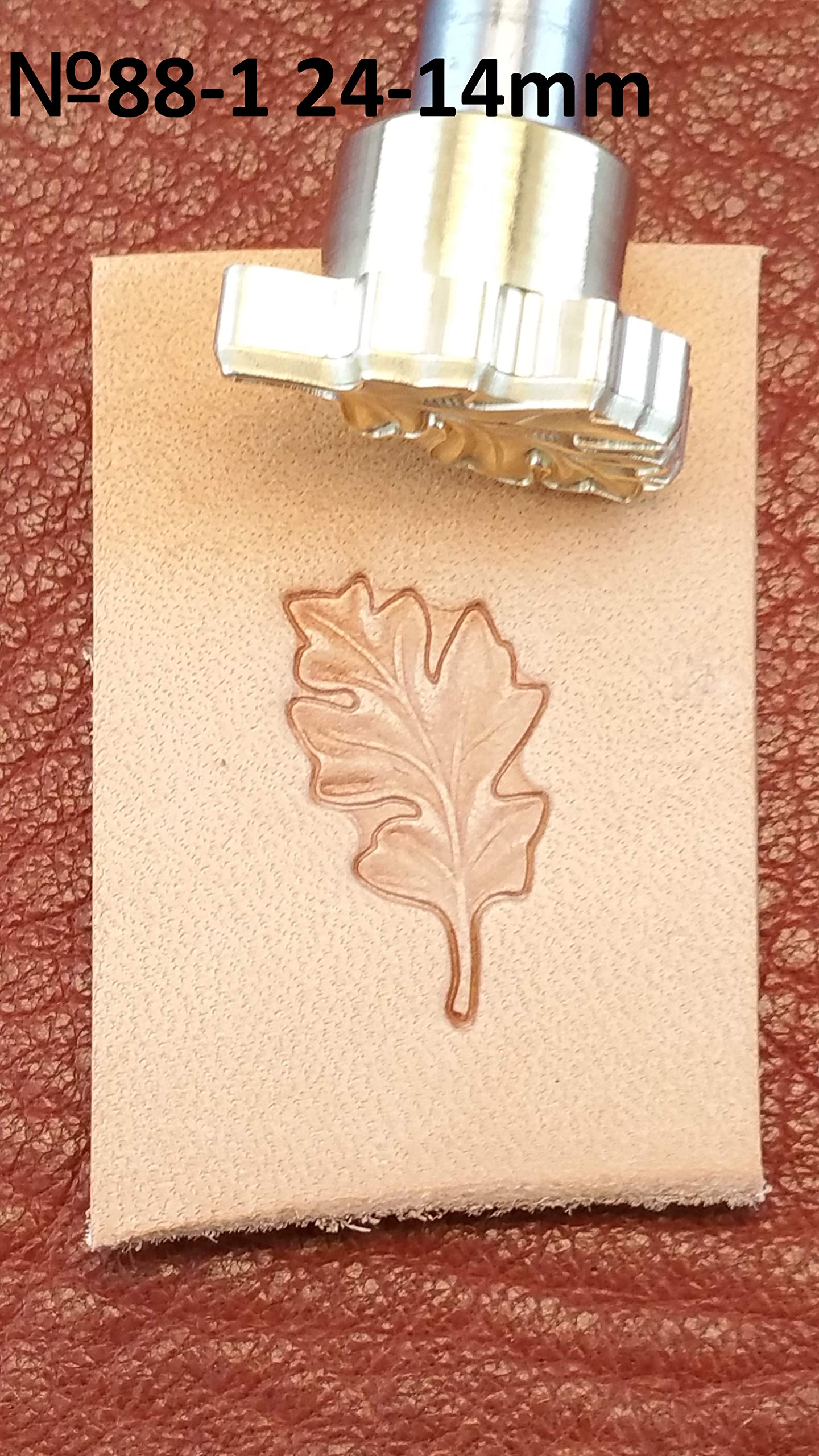 Acorn Leather Crafting Stamp Tool for Leather Crafts Brass #88Set by DandS ltd (Image #1)