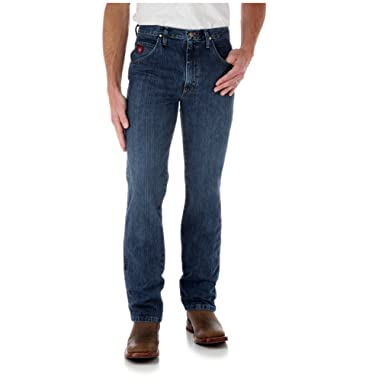 ca9698c5 Wrangler PBR Slim FIT Jean - Authentic Stone at Amazon Men's Clothing store:
