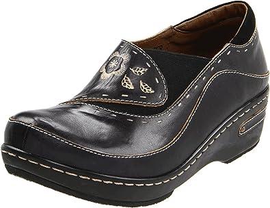 4911e2890e299 Spring Step Women s Burbank Slip-On Loafer Black 35 EU 5 ...