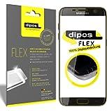 Samsung Galaxy S7 Edge Pellicola protettiva, rivestimento del display al 100%, 3x pellicola protettiva per display dipos Flex