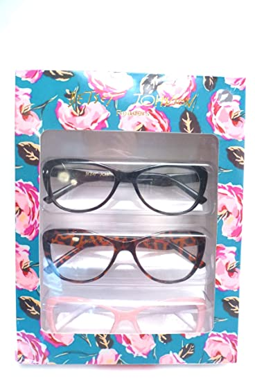 211995e3678b Image Unavailable. Image not available for. Color  Betsey Johnson Reading  Glasses ...