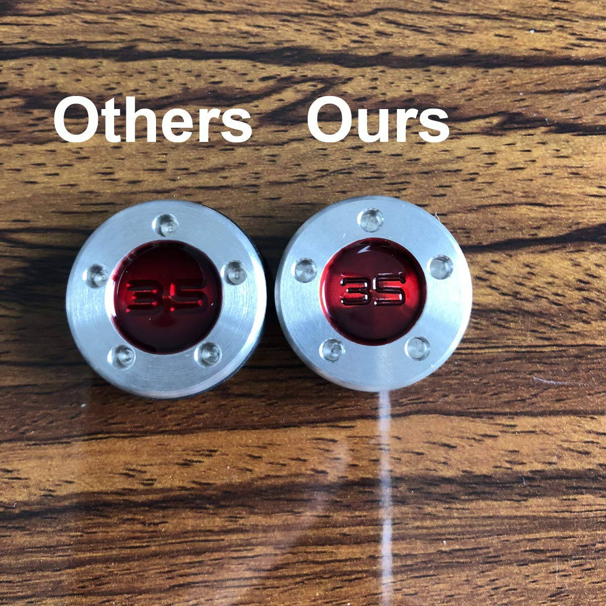 SummerHouse Custom Putter Weights 【 5g, 10g, 15g, 20g, 25g, 30g, 35g, 40g 】 for Scotty Cameron Select Newport Studio Design California GoLo Futura X Series Clubs Head (35) by SummerHouse