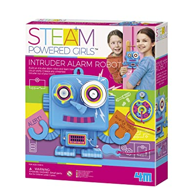 4M Intruder Alarm Robot Kids Science Kit: Toys & Games