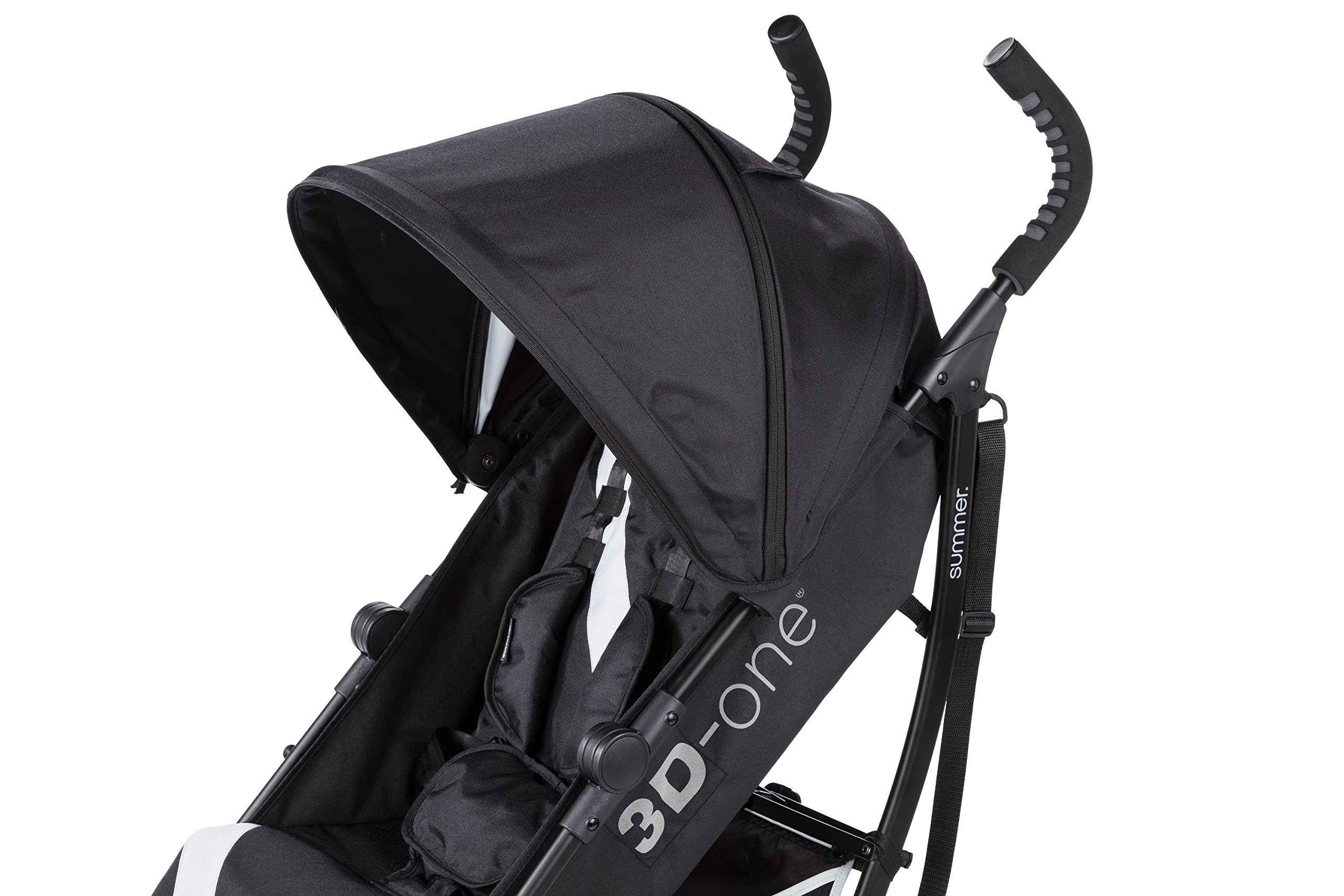 Summer Infant 3D-one Convenience Stroller, Eclipse Gray by Summer Infant (Image #8)