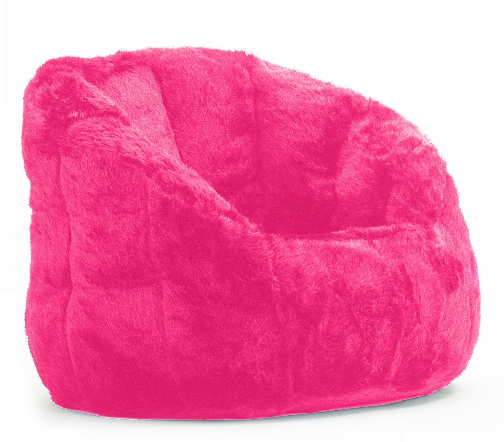 Cocoon Faux Fur Bean Bag Chair, Multiple Colors (1)