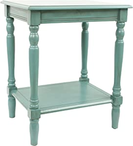 Décor Therapy Simplify End Table, Blue