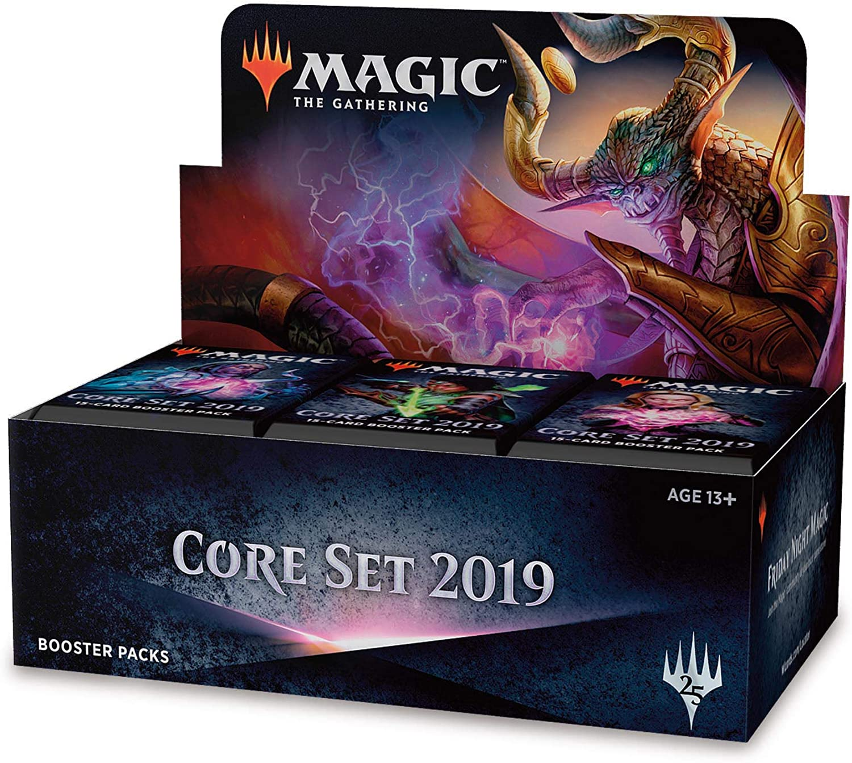 Magic The Gathering MTG-M19-BD-EN Core 2019 - Pantalla de elevación