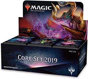 Magic: The Gathering Core Set 2019 Booster Box   36 Booster Packs (540 Cards)