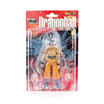 Dragon Ball Super Son Goku Ultra Instinct Character Action Figure Shokugan Shodo Vol.6: Toys & Games