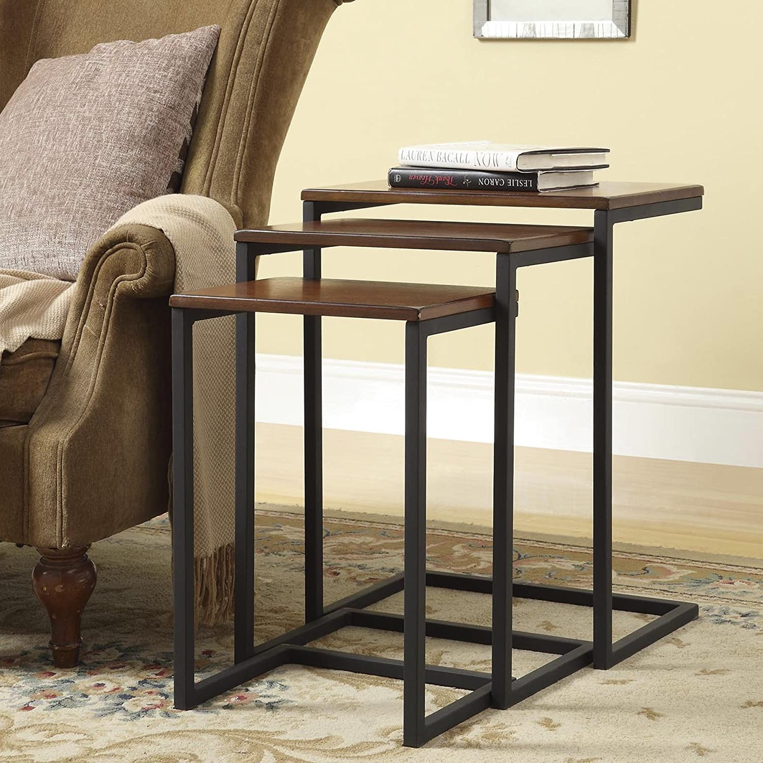 Carolina Chair and Table Madison Nesting Table, Set of 3