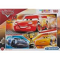 Clementoni - 29291 - Supercolor Puzzle - Cars - 180 Parça - Disney