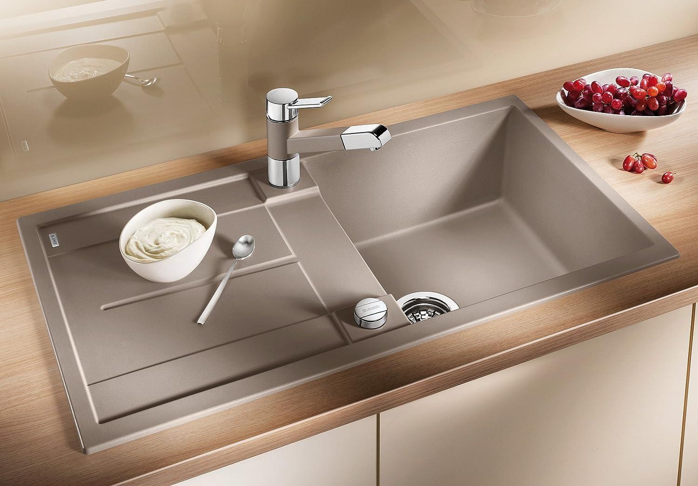 Blanco Küchespüle Metra (50 cm Unterschrank), weiß, 513037: Amazon ...