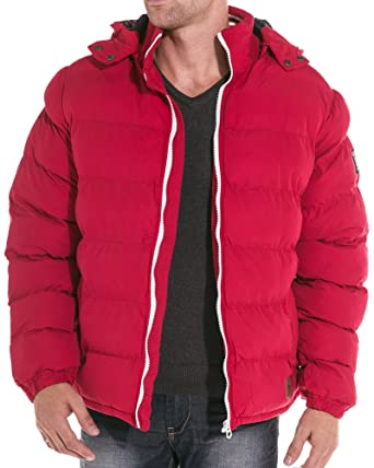 Mzgz Stadt Jacke rote Jacke Color: Rot, Size: XXL