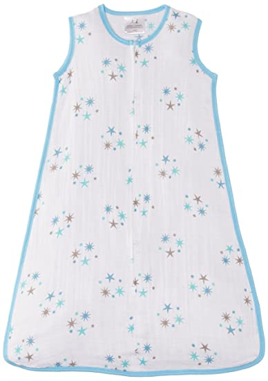 aden + anais Classic Muslin Sleeping Bag, Star Bright, Small