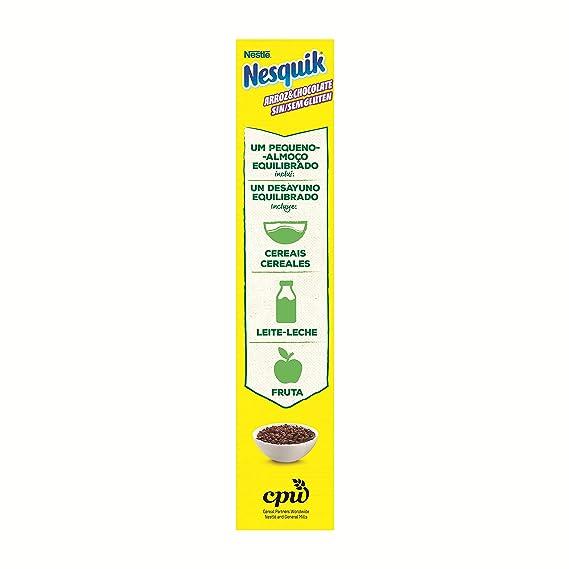 Nestlé Nesquik Cereales Desayuno Sin Gluten - 310 g: Amazon.es: Amazon Pantry