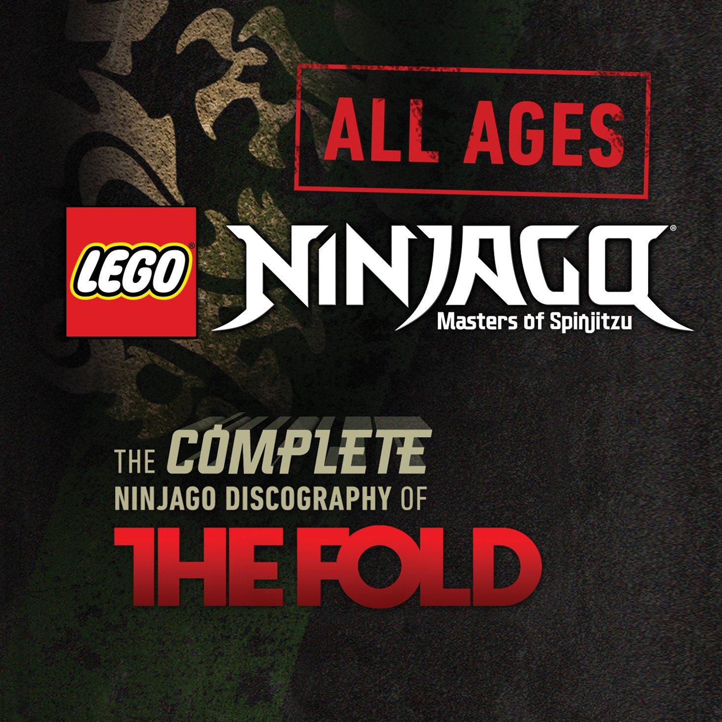 LEGO Ninjago All Ages — The Folds Complete Ninjago Discography Double CD