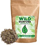 Organic Guayusa Tea, Loose Leaf Amazonian Superleaf Tea by Wild Foods, Full of Antioxidants and Caffeine, Smooth non-bitter flavor, Preserves Rainforest (#1 Pure Guayusa Leaf, 8 ounce)
