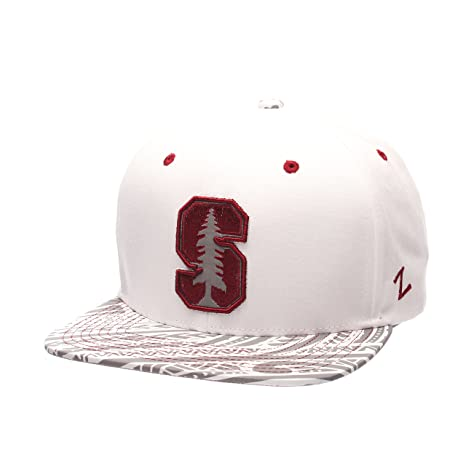 newest 7dc2b 3503f Image Unavailable. Image not available for. Color  Zephyr NCAA Stanford  Cardinal Men s Lahaina Snapback Cap, Adjustable ...