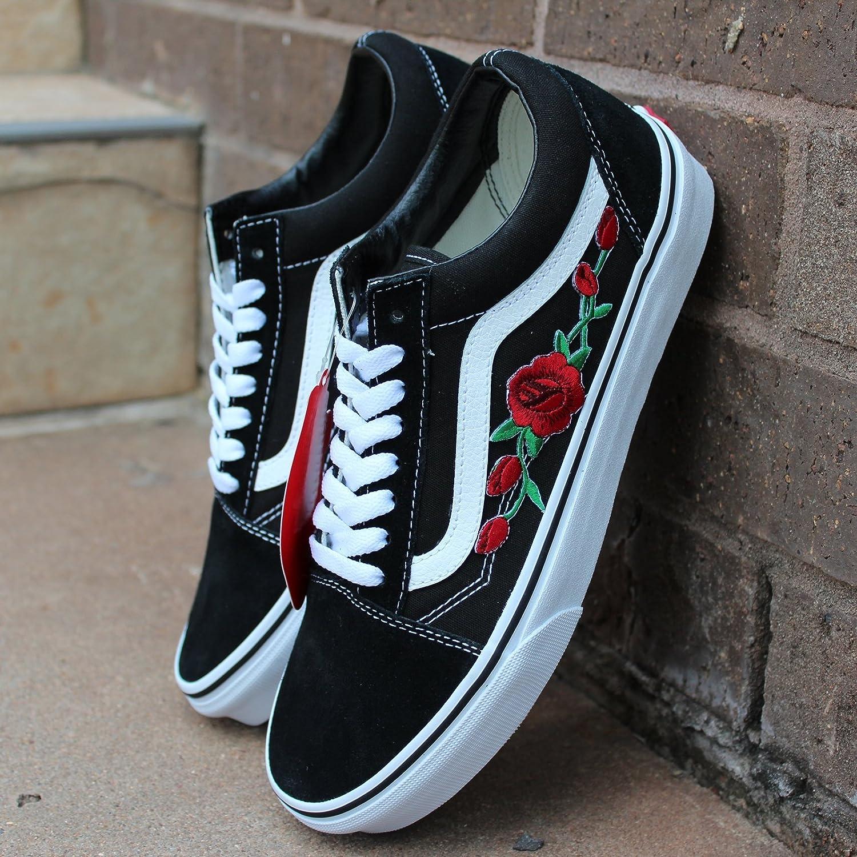 vans roses red