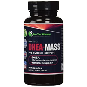 New You Vitamins DHEA-Mass 100mg Supplement