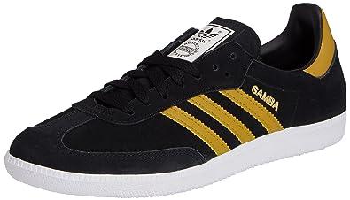 4d14f94f3 adidas Samba, Men's Trainers, Black (Core Black/Spice Yellow F14-St ...
