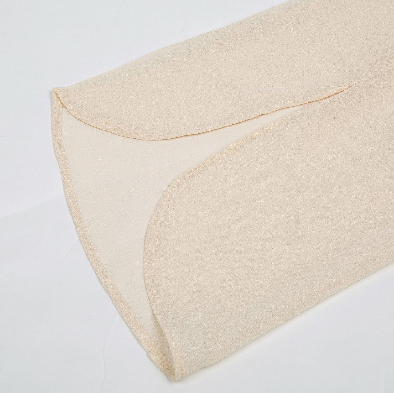 GRACE KARIN Womens Casual Chiffon Blouse Tops Half Ruffle Sleeve