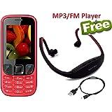 IKALL K6303 2.4-inch Screen Dual SIM Mobile Phone (Red)